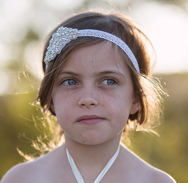 Lace Shimmer Headband