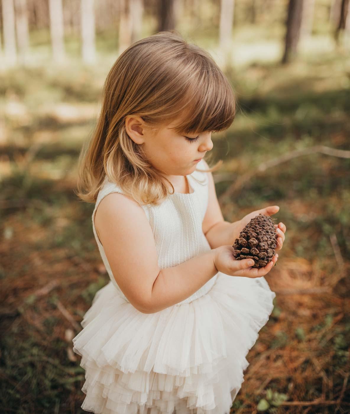 Girls Shimmer Tutu Flower Girl Dress