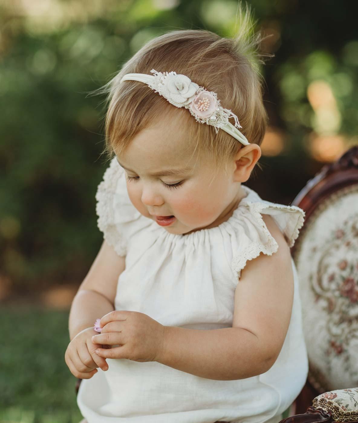 Petite Petal Girls Headband