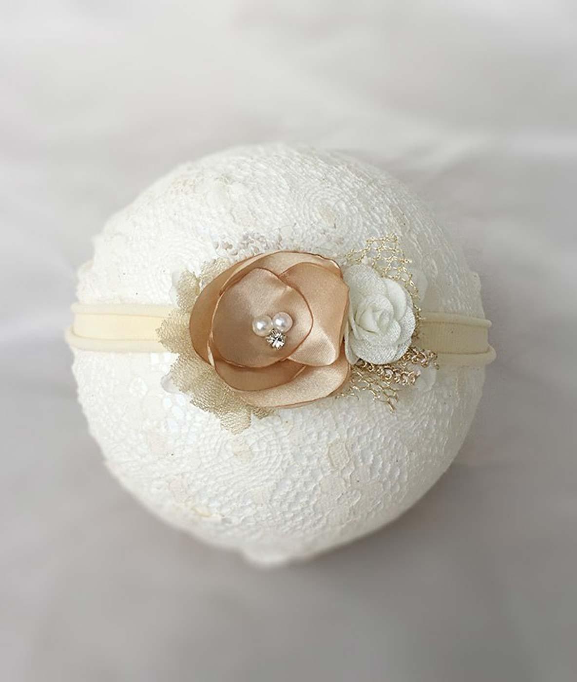 Pretty petals girls headband