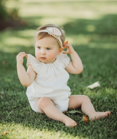 Pretty petals girls headband