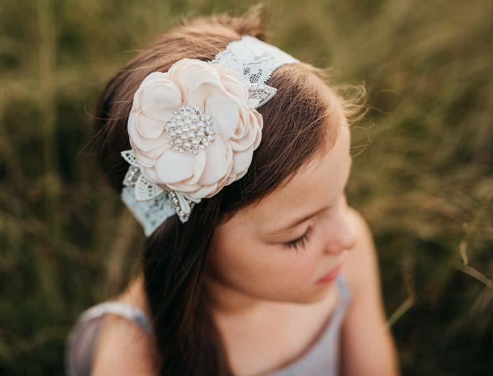 Girls Vintage Headbands